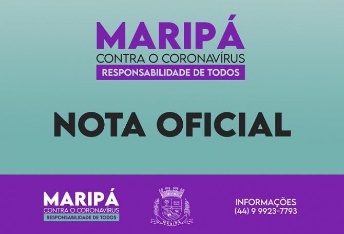Município de Maripá orienta população sobre medidas restritivas estabelecidas pelo Estado