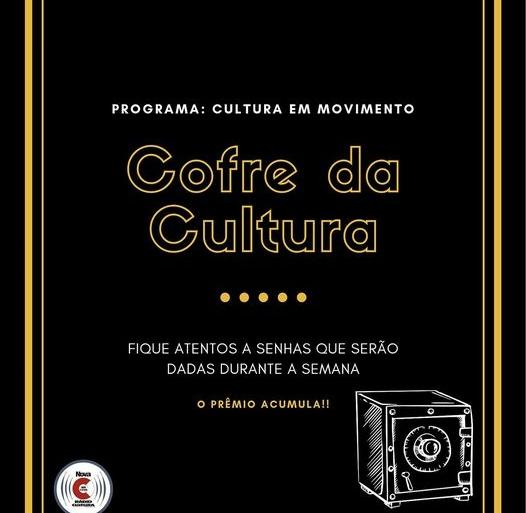 Promoção Cofre da Cultura